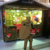 Cardboard Armour at Ideal Home Show